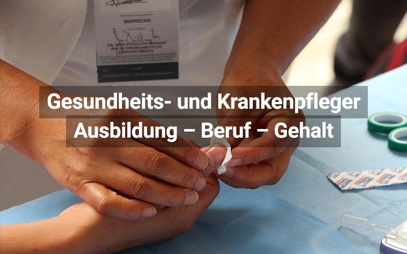 Gesundheits Und Krankenpfleger