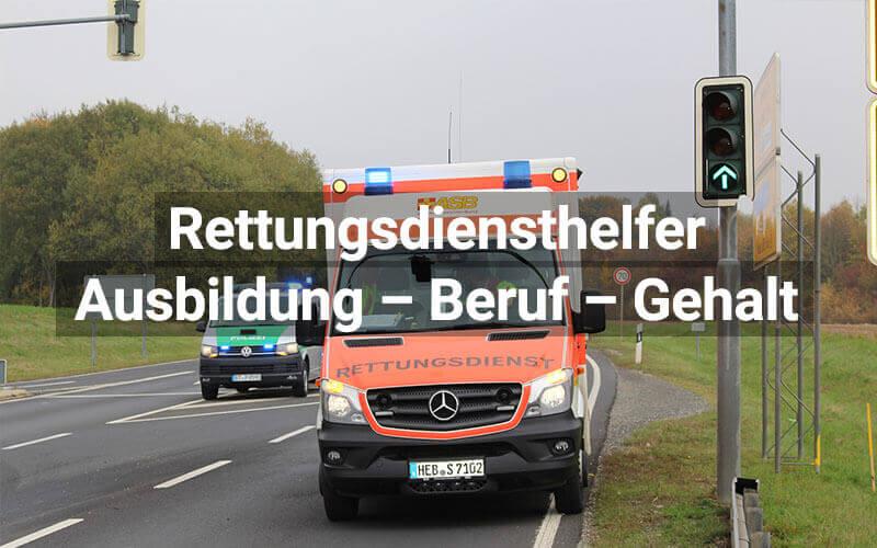 Rettungsdiensthelfer