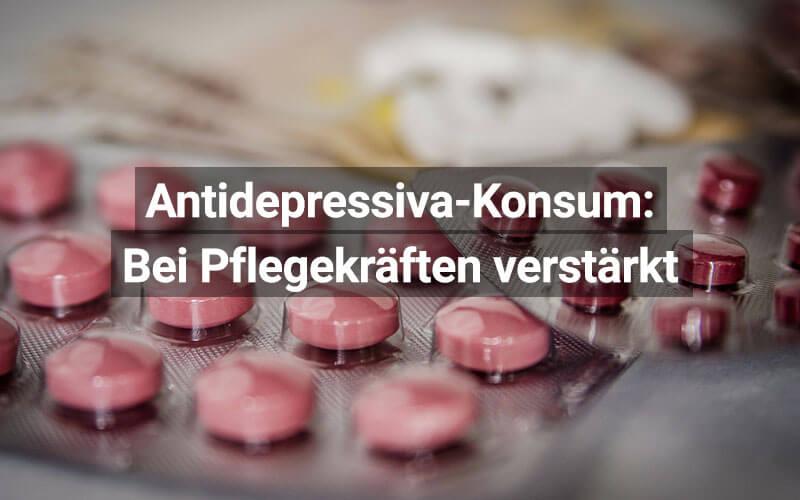 Pflegekräfte Antidepressiva