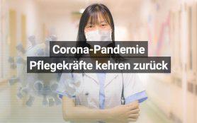 Freiwillige Pflegekräfte Corona