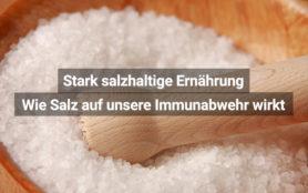 Studie Salz Immunabwehr