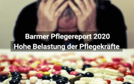 Barmer Pflegereport 2020