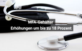 MFA Gehälter Steigen