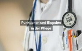 Punktionen Und Biopsien In Der Pflege
