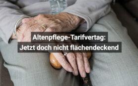 Altenpflege Tarifvertrag