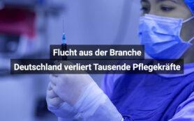 Deutschland Verliert Pflegekräfte