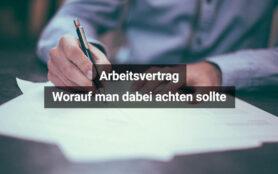 Arbeitsvertrag